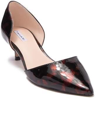 Tahari Faustine d'Orsay Kitten Heel Pump