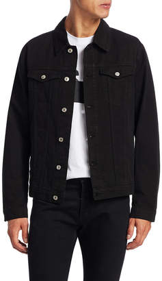 MSGM Spread Collar Denim Jacket