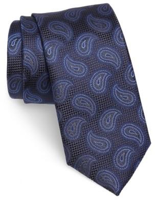 Men's Canali Paisley Silk Tie $160 thestylecure.com
