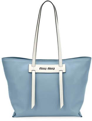Miu Miu Patch Small Grace Lux Tote Bag