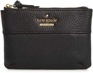 Kate Spade Jackson Street Mila Leather Zip Pouch
