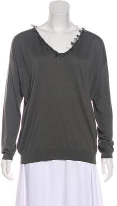Brunello Cucinelli Embellished Long Sleeve