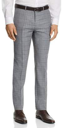 HUGO Hets Slim Fit Tonal Plaid Suit Pants