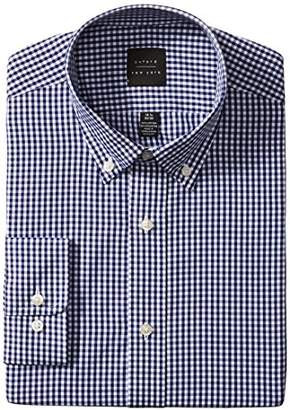 Oxford NY Men's Gingham Button Down Collar