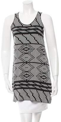 Tess Giberson Knit Patterned Top w/ Tags