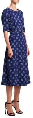 Altuzarra Elena Paisley Print A-Line Dress