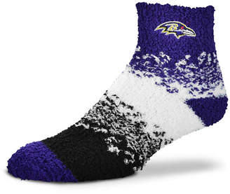 For Bare Feet Baltimore Ravens Marquee Sleep Soft Socks
