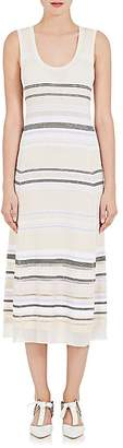 Proenza Schouler Women's Striped Tech-Knit Maxi Dress