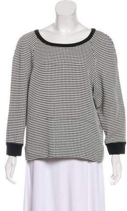 L'Agence Long Sleeve Knit Sweater