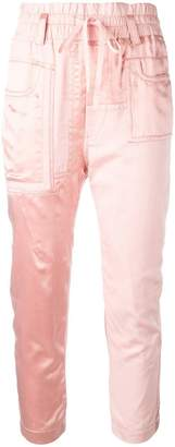 Haider Ackermann Baker cropped trousers