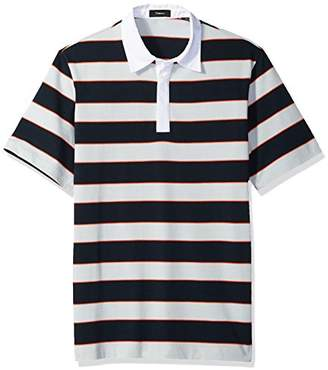 Theory Men's Barrel Stripe Rugby Polo