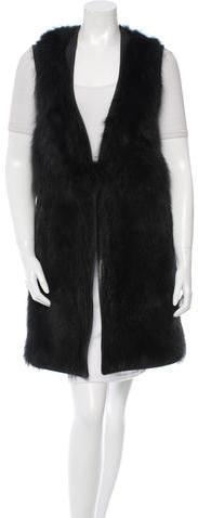 GivenchyGivenchy Fur Leather Vest