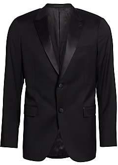 Theory Men's Wellar Hamburg Tuxedo Jacket