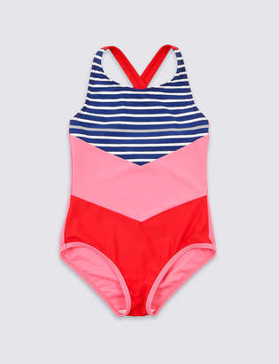 04386a58fa40c Marks and Spencer Swimsuit with Sun Safe UPF50+ (3-16 Years)