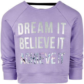 Ideology Toddler Girls Dream-Print Sweatshirt, Created for Macy's