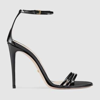 Gucci Patent leather sandal