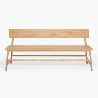 Ethnicraft Oak Back Bench