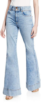 Alice + Olivia Jeans Beautiful Ex High-Waist Bell Jeans
