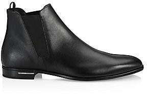 Prada Men's Leather Chelsea Boots