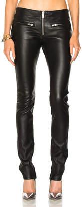 Adaptation Zip Skinny Leather Pant