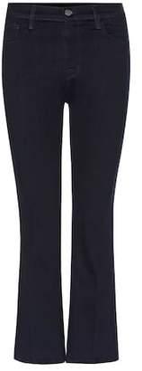 J Brand Helena cropped denim jeans