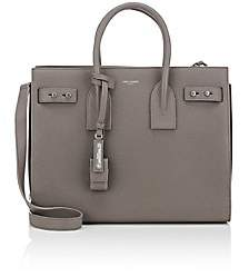 Saint Laurent Women's Small Leather Sac De Jour - Gray