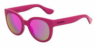 Havaianas Rubber Cat-Eye Sunglasses $68 thestylecure.com