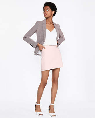 Express Fitted Mini Skirt