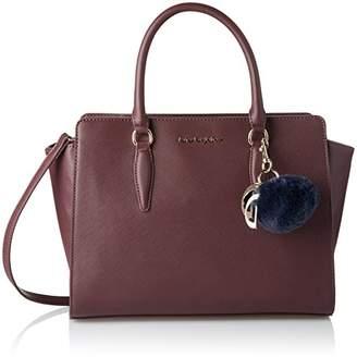 Byblos 675844, Women's Cross-Body Bag, Rosso (Bordeaux), 13.5x24x39 cm (W x H L)