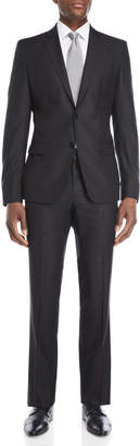 Versace Two-Piece Black Wool Suit