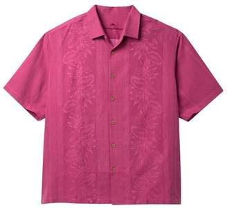 Tommy Bahama Pacific Floral Regular Fit Woven Shirt (Big & Tall)