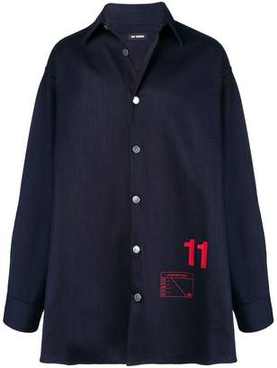 Raf Simons oversized shirt jacket