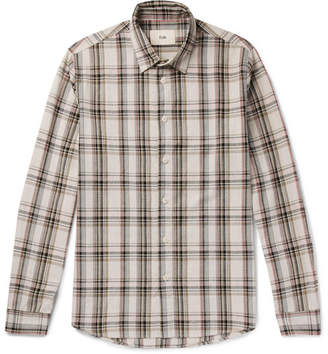 Folk Storm Checked Cotton Shirt