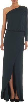 Mason by Michelle Mason Asymmetric Gown