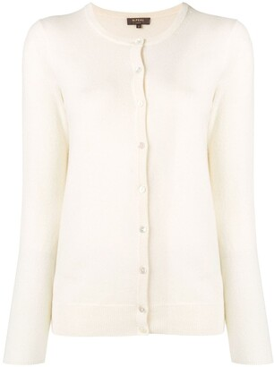 N.Peal round neck cardigan