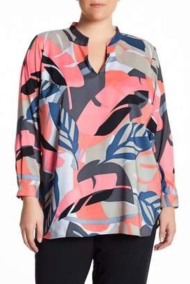 Vince Camuto Modern Tropics Tunic Blouse (Plus Size) $109 thestylecure.com
