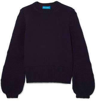 MiH Jeans Lova Cotton Sweater - Navy