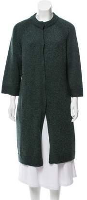 Akris Punto Wool Longline Cardigan