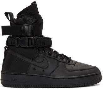 Nike Black SF Air Force 1 High-Top Sneakers