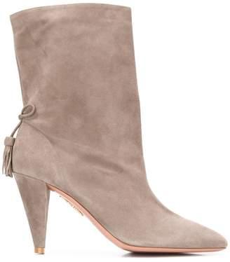 Aquazzura x Claudia Schiffer ankle boots