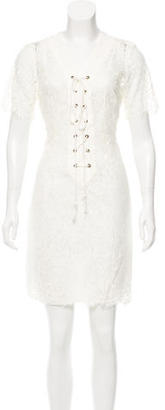Tracy Reese Lace Mini Dress $85 thestylecure.com