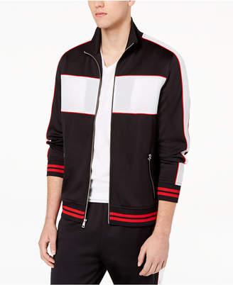 INC International Concepts I.n.c. Men's Descendants Side-Stripe Track Jacket, Created for Macy's