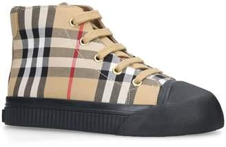 Burberry Belford Vintage Check Sneakers