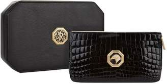 Stefano Ricci Eagle Embossed Crocodile Leather Wallet