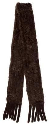Beretta Fur Knit Scarf