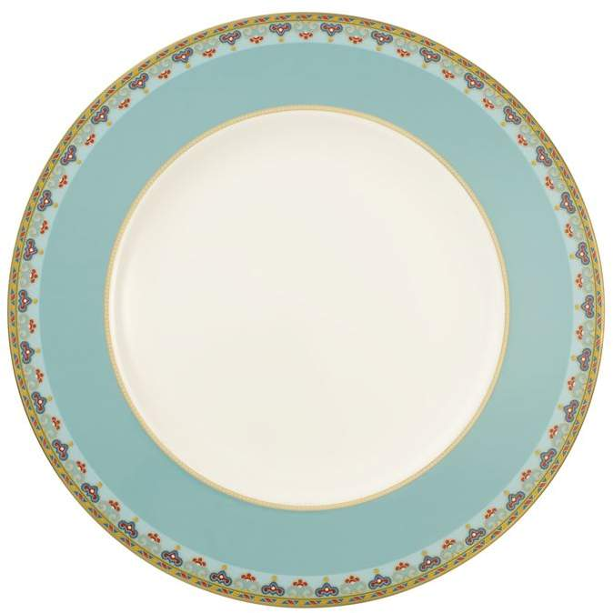 Samarkand Aquamarine Flat Plate (27cm)