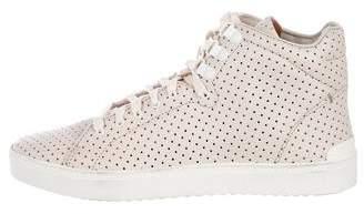 Rag & Bone Leather Kent High-Top Sneakers