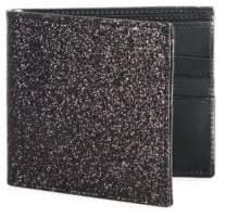 Maison Margiela Glitter Calf Leather Bi-Fold Wallet