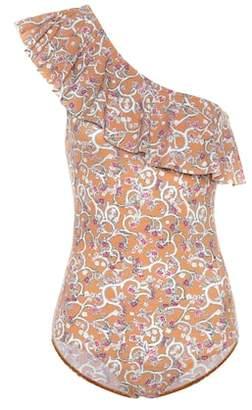 Etoile Isabel Marant Isabel Marant, Étoile Sicilya printed one-piece swimsuit