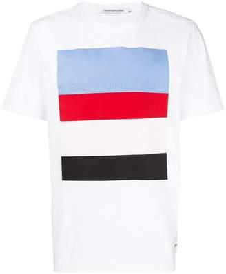 Calvin Klein Jeans contrast stripe T-shirt